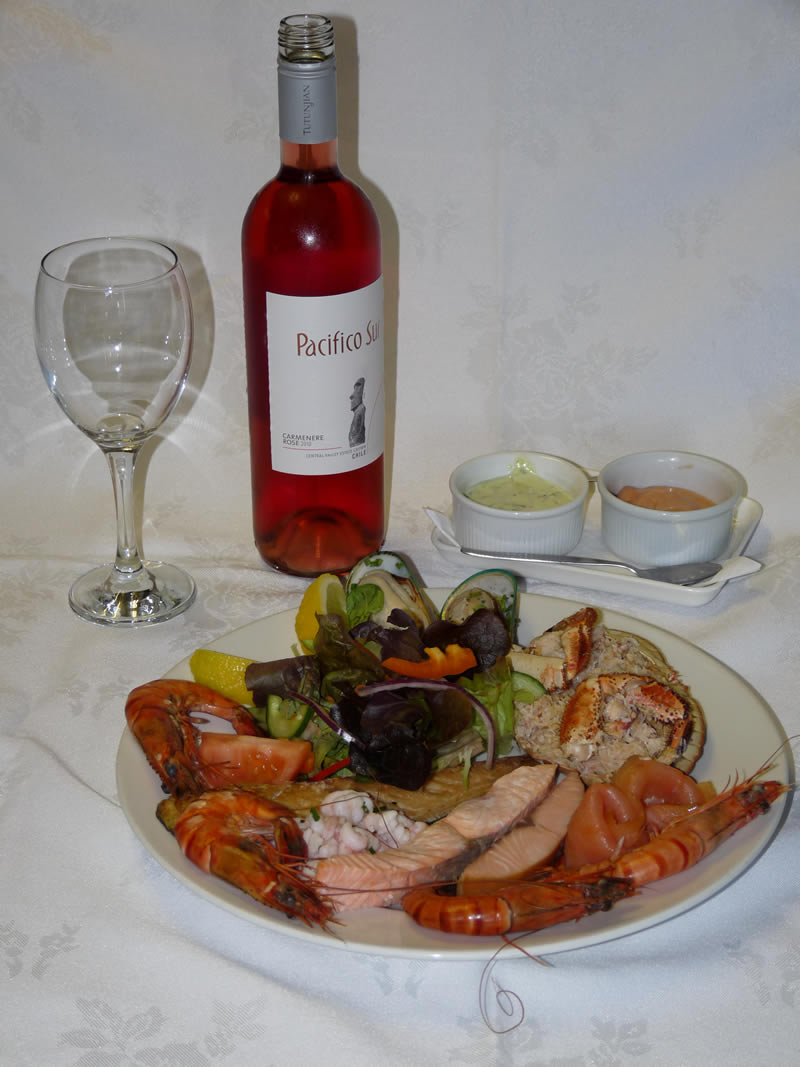 Wine with Seafood