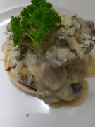 Stilton Mushrooms